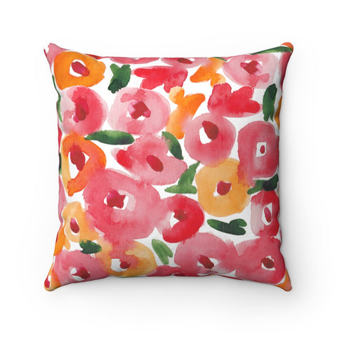 Poppy FloralPillow