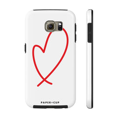 Loopy Heart Phone Case