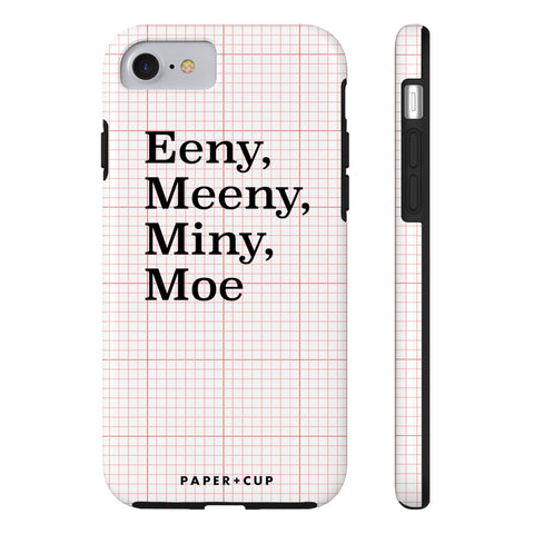 Red Eeny, Meeny Phone Case
