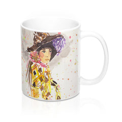 Girl in Hat Mug