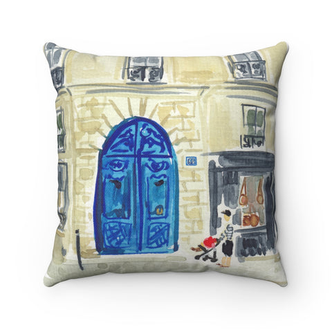French Doorway Pillow