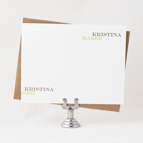 Sliding Stationery