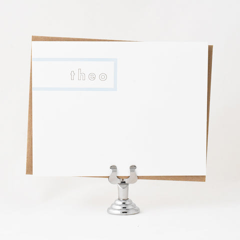 Sidebar Stationery