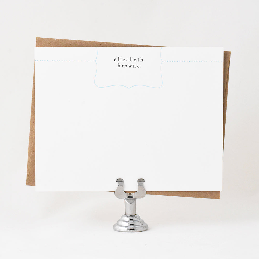 Bon Bon Border Stationery