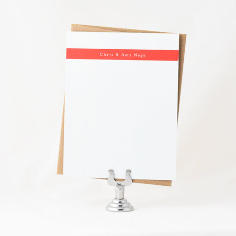 Bar Stationery