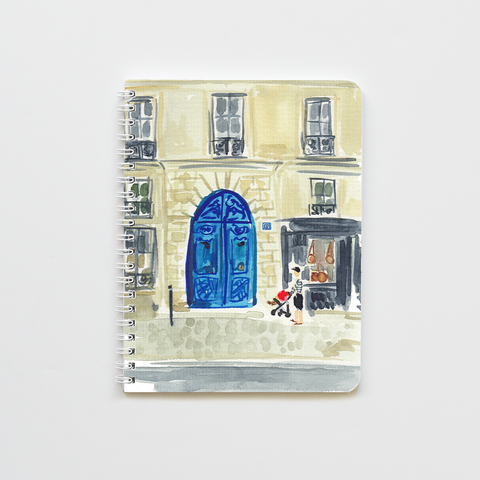 French Doorway Notebook