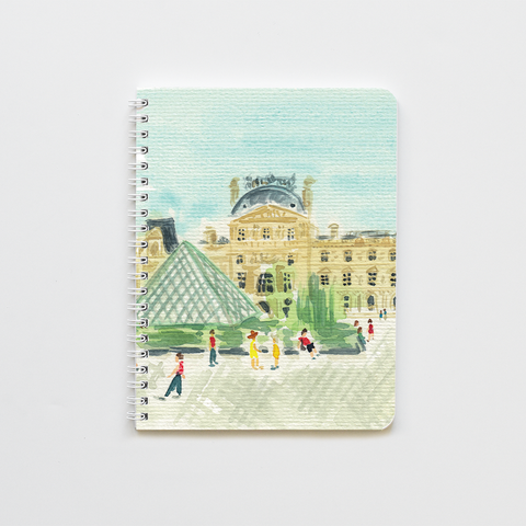 Louvre Museum Notebook