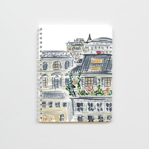 Paris Rootops Notebook