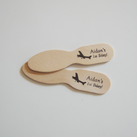 Custom Wooden Ice cream spoon