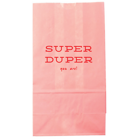 Super Duper lunch bag