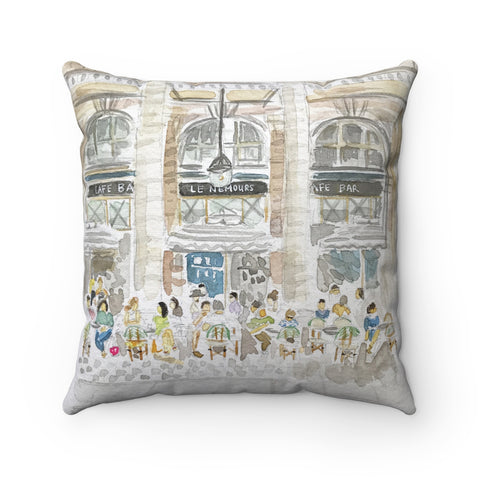 Paris Cafe Pillow