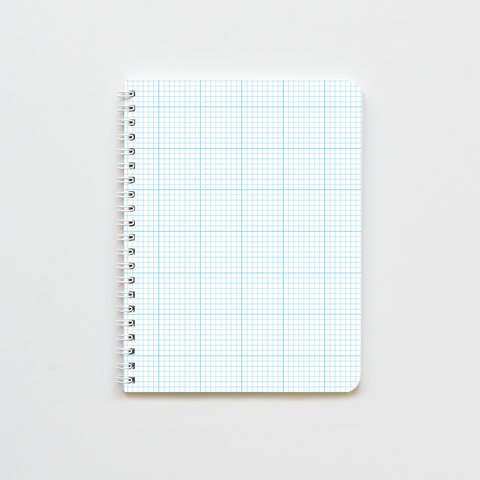 Blue Graph Notebook