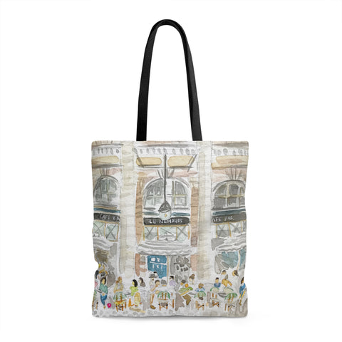 Paris Cafe Tote Bag