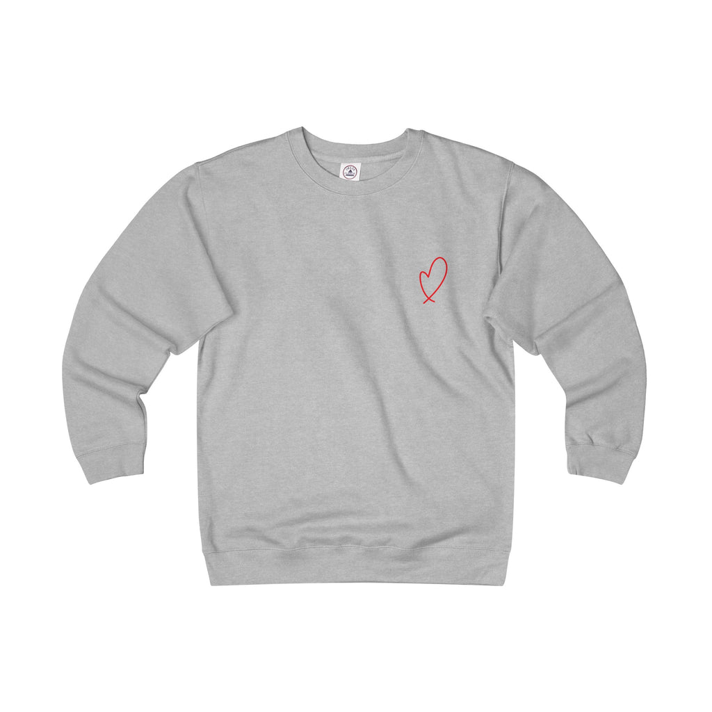 Adult Loopy Heart Sweatshirt