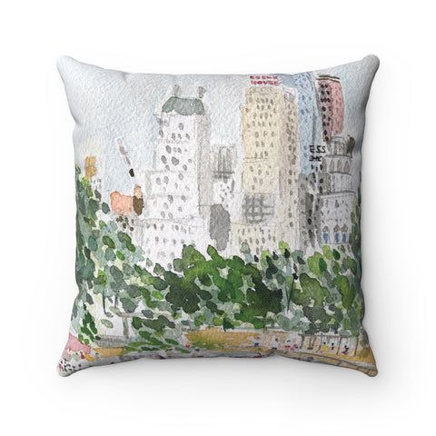 Central Park Playground Pillow