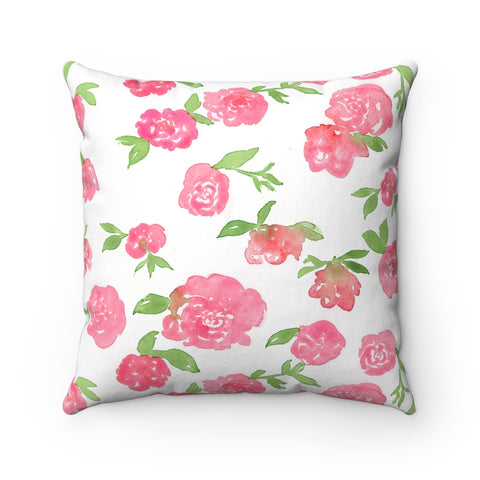 Mini Roses Floral Pillow