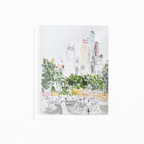 Central Park Playground Card