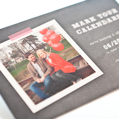 Photo save the date postcards