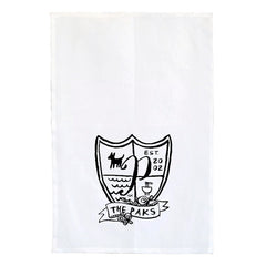 Crest Tea Towel