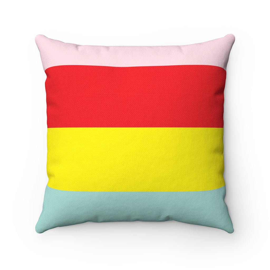 Candy Striped Pillow