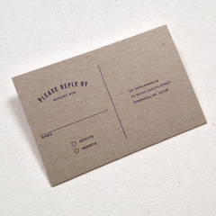 Invite stamp - from desk of rubber stamp suite