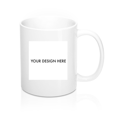 Your Art Mug - cropped image and text