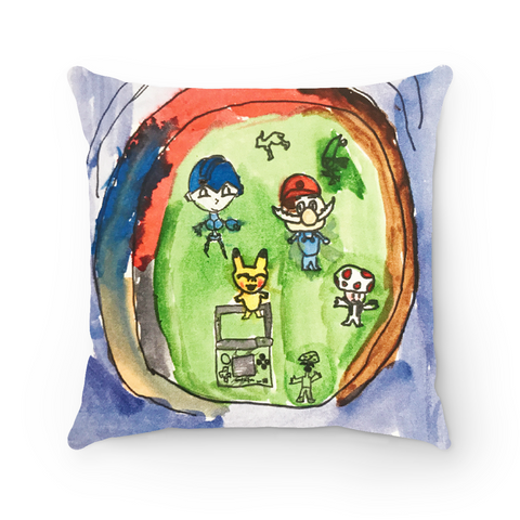 Custom Art Pillow- full art