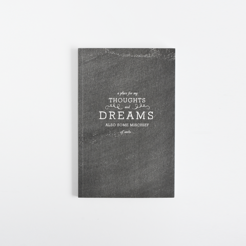 Dream Chalkboard Notebook