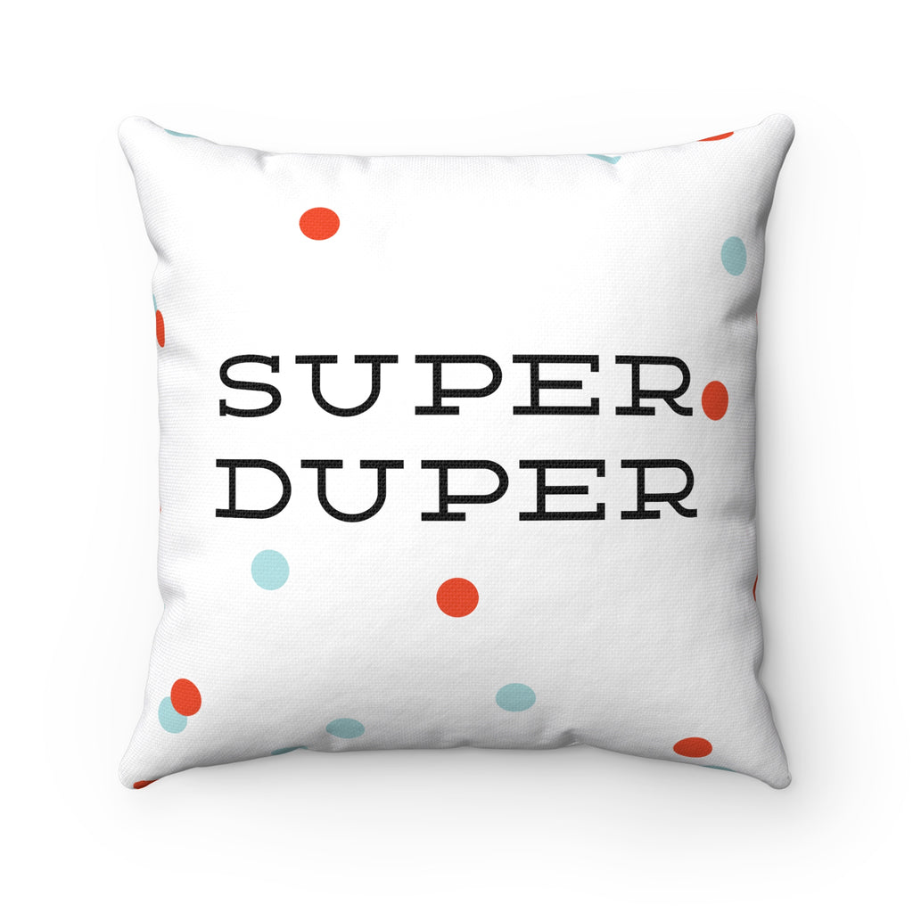 Super Duper Confetti Pillow
