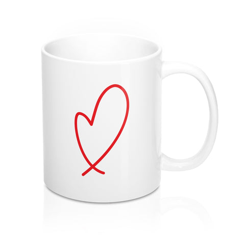 Loopy Heart Mug
