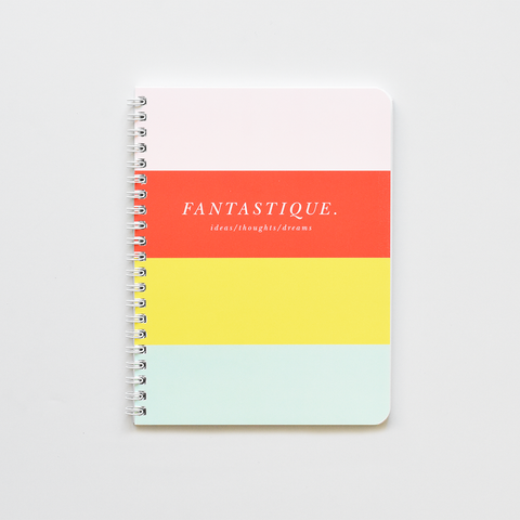 Candy Striped Notebook-WS
