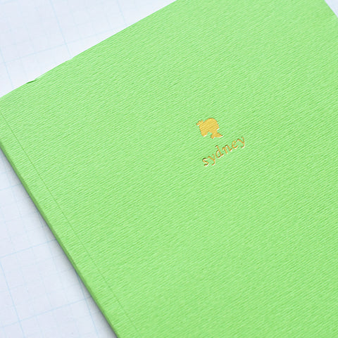 Light Green Personalized Foil Journal