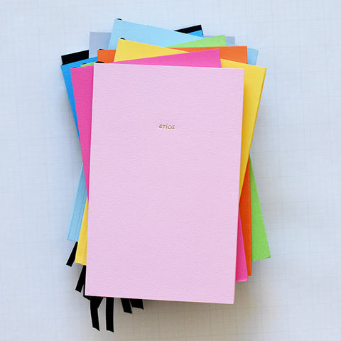 Personalized Foil Journal