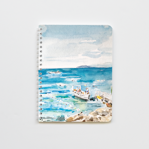 Sailboat in Italy Notebook