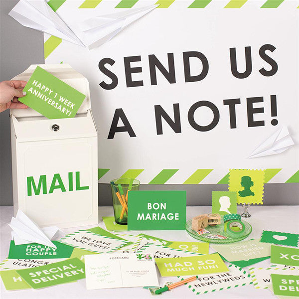 Send us a note!