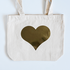 Heart of Gold Small Tote