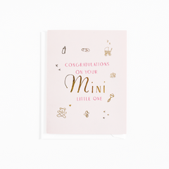 Your Mini Card - blue