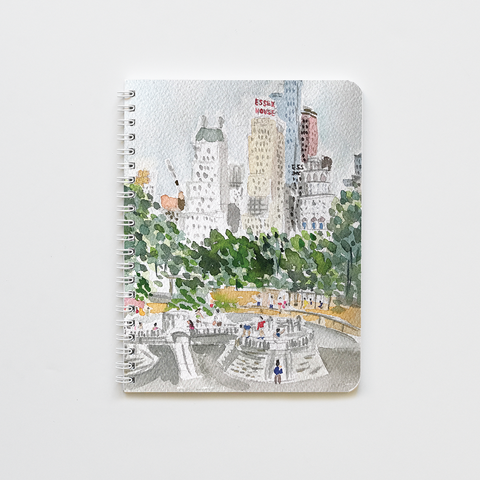 Central Park Playground Notebook