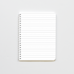 Dashed Notes Notebook