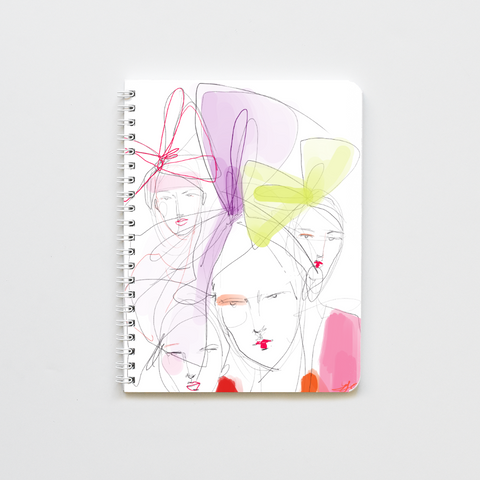 Raspberry Kisses Notebook