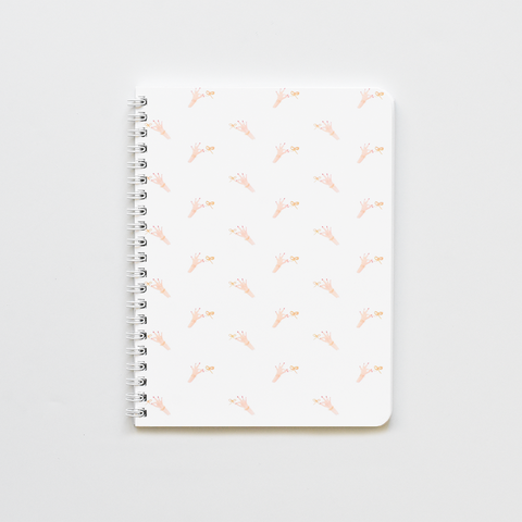 Bowtie Hands Notebook