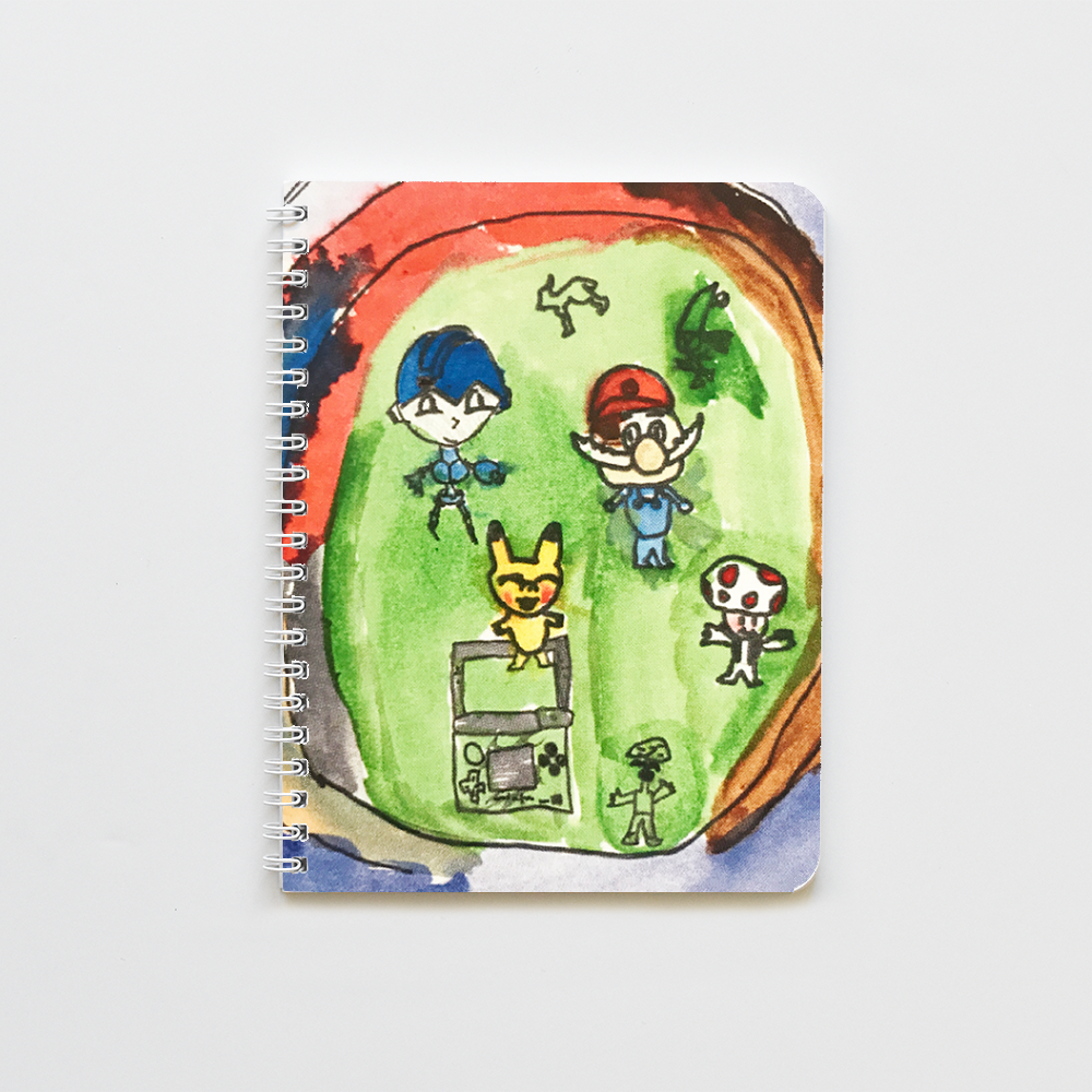 Custom Art Notebook- full art
