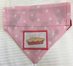 Cutie Pie 2 Girl's Dog Bandana