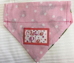 Cutie Pie Dog Bandana