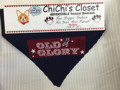 Old Glory Holiday Dog Bandana