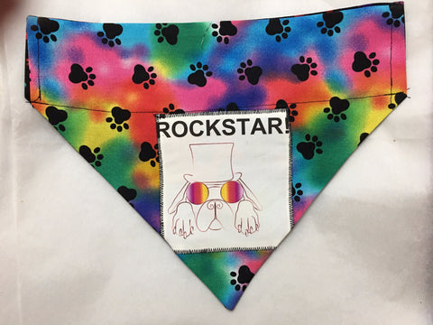 Rock Star Grateful Dead  Dog Bandana