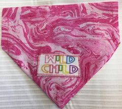Wild Child Girl's Dog Bandana