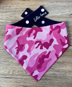 GIRLS reversible Snap bandana