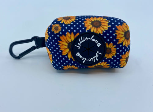 Lollie-lou Sunflower Poop bag holder