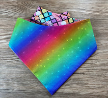 Load image into Gallery viewer, Disco Piggies Reversible Snap Bandana